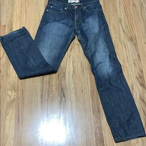 Levi's slim straight 514 jeans 31x32 medium wash